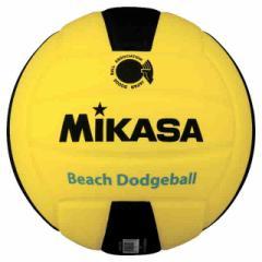 ミカサ ドッジボール ビーチドッヂボール2号  MIKASA MGBD240-YBK