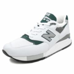 NEW BALANCE M998 JWG【ニューバランス M998JWG】white/green(ホワイト/グリーン)NB M998-JWG 18SS
