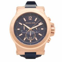 マイケルコース 時計 メンズ MK8295 DYLAN ディラン クロノグラフ 腕時計 ウォッチ ブルー/ゴールド