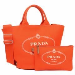 プラダ トートバッグ レディース PRADA 1BG163 ZKI F0049 OOO オレンジ