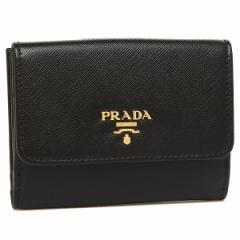 プラダ 二つ折り財布 PRADA 1MH523 QWA F0002 ブラック
