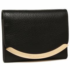 シーバイクロエ 折財布 レディース SEE BY CHLOE CHS17WP580 349 001 ブラック