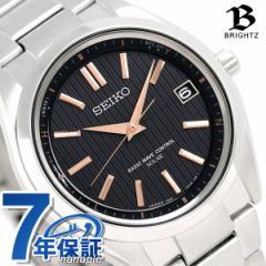 セイコー ブライツ チタン 日本製 電波ソーラー メンズ SAGZ087 SEIKO BRIGHTZ 腕時計