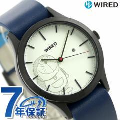 【あす着】セイコー ワイアード ドラえもん 限定モデル AGAK710 SEIKO WIRED メンズ レディース 腕時計 ホワイト×ブルー
