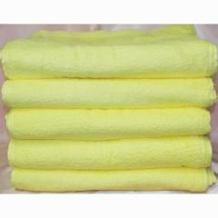 カラータオル 200匁 ベトナム製 黄色 120枚組