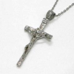 ネックレス ステンレス 316L クロス 十字架 シルバー カラー ネックレス レディース メンズ セール アクセサリー