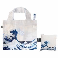【メール便発送OK】 LOQI(ローキー) 北斎 HO.WA【エコバッグ/買い物袋/お買い物バッグ/絵/Museumコレクション】 (6028926)
