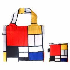 【メール便発送OK】 LOQI(ローキー) モンドリアン PM.CO【エコバッグ/買い物袋/お買い物バッグ】 (6028928)