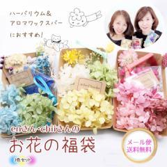 【メール便送料無料】enさんchiiさんのお花の福袋[3種セット]★手芸クラフト ハーバリウム花材 アロマワックスバー