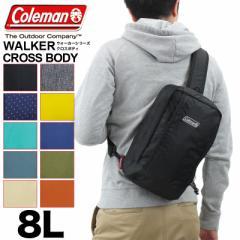 【ポイント10倍+レビュー記入で5倍】【2019年新色追加】Coleman(コールマン) WALKER(ウォーカー) CROSS BODY(クロスボディ) ボディバッグ