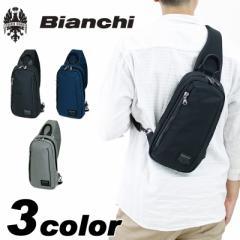 【ポイント10倍+レビュー記入で5倍】Bianchi(ビアンキ) TBNY ボディバッグ ワンショルダーバッグ 斜め掛けバッグ撥水 TBNY-02 メンズ レ