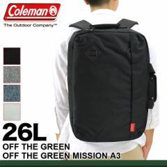 【ポイント10倍+レビュー記入で5倍】Coleman(コールマン) OFF THE GREEN(オフザグリーン) OFF THE GREEN MISSION A3(オフザグリーンミッ