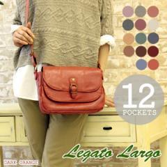 【ポイント10倍+レビュー記入で5倍】Legato Largo 12ポケット ミニショルダーバッグ LU-12021 レディース