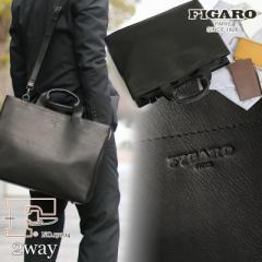 【ポイント10倍+レビュー記入で5倍】FIGARO(フィガロ) BIS(ビス) ビジネスバッグ ブリーフケース ショルダーバッグ 2WAY A4 日本製 17104