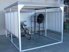 配送条件限定商品 ダイマツ 多目的万能物置 DM-20 壁パネルショートタイプ 土台寸法 間口2347×奥行2