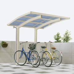 サイクルポート YKKAP レイナポートグラン ミニ 22-21 ポリカ屋根 標準基本セット  『サビに強いア