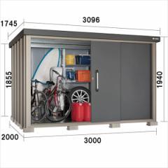 サンキン物置 SK8 SK8-180 一般型 棚板棚支柱セット付 『追加金額で工事も可能』 『中型・大型物置