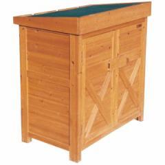 オンリーワン ガーデンストア JB3-26804 0906 木製物置  『おしゃれ 物置小屋 屋外』 木調