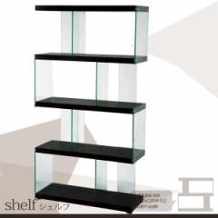 多機能シェルフ ブラックL(幅82.5×奥行き31×高さ152cm)(棚/シンプル)【送料無料】【SALE セール】【38%OFF】