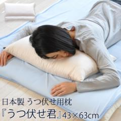 うつぶせ 枕 『うつ伏せくん』 43×63cm (うつぶせ寝枕 うつぶせ枕 うつぶせ クッション まくら マクラ ピロー うつ伏せ寝)