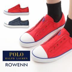 3c7a3b5a86c08 レディーススニーカー 女性 婦人 POLO RALPH LAUREN ポロ ラルフローレン ローウェン ROWENN 通学 通勤 靴