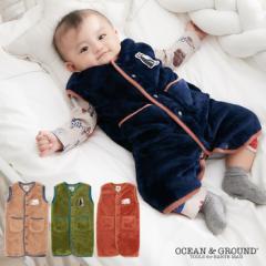 9b9cb0956c040  ベビー  OCEAN GROUND ベビーフリーススリーパー 赤ちゃん ねんね 寝袋 あったか 寝冷え防止
