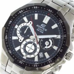 腕時計 メンズ カシオ CASIO エディフィス EDIFICE クロノ クォーツ EFR554D1AV ブラック