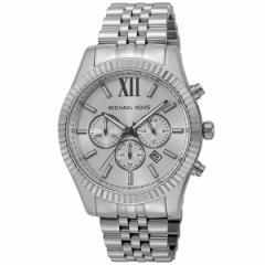腕時計 メンズ マイケル コース MICHAEL KORS レキシントンクロノグラフ クオーツ MK8405 シルバー