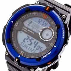 腕時計 メンズ カシオ CASIO SGW-600H-2A クォーツ ブラック