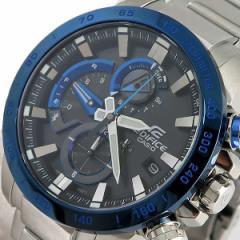 腕時計 メンズ カシオ CASIO エディフィス EDIFICE タフソーラー EQB-800DB-1A クォーツ ブラック シルバー