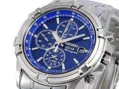 腕時計 メンズ セイコー SEIKO ソーラー クロノ SSC141P1
