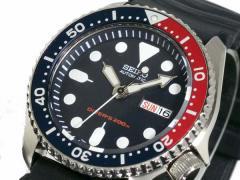 セイコー SEIKO ダイバー ネイビーボーイ 自動巻き 腕時計 SKX009KC腕時計腕時計メンズ腕時計watch人気ラン