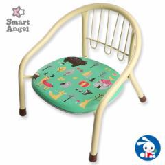 SmartAngel)サイレントミニチェアHappyFriends[ベビー ベビーチェア 赤ちゃん チェア 椅子 いす イス ベビーチェアー 赤ちゃん用品][西松