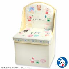 [サンリオ]座れる収納ボックス(サンリオキャラクターズ)[ベビー ベビーチェア 赤ちゃん チェア 椅子 いす イス ベビーチェアー ベビー