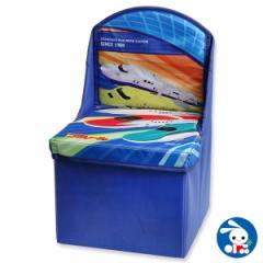 座れる収納ボックス(プラレール)[ベビー ベビーチェア 赤ちゃん チェア 椅子 いす イス ベビーチェアー ベビー用品 赤ちゃん用品 子育