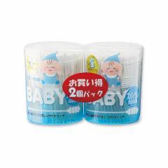 抗菌ベビー綿棒 スパイラル2個パック [ めんぼう めん棒 赤ちゃん ベビー 耳掃除 抗菌綿棒 ベビー綿棒 衛生用品 ベビー用品 ベビーグッズ