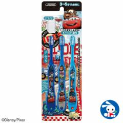 [ディズニー]園児歯ブラシ3本セット(カーズ) [ 幼児 幼稚園 歯ぶらし 歯ブラシ はぶらし ハブラシ 子供 子ども こども はみがき ハミガ