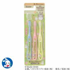 園児用歯ブラシ3本セット(トトロ) [ 幼児 幼稚園 歯ぶらし 歯ブラシ はぶらし ハブラシ 子供 子ども こども はみがき ハミガキ 歯磨き