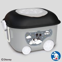[ディズニー]窓付きおもちゃ箱(ミッキーマウス)[おもちゃ箱 おもちゃばこ 収納ボックス おもちゃ 子供 子ども こども キッズ お片付け
