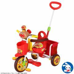 わくわくアンパンマンごう ピース2(レッド)[乗用玩具 三輪車 子供 子ども こども 3輪車 子供玩具 誕生日プレゼント 玩具 乗り物 キッズ