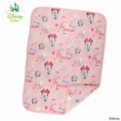 ディズニー)あったかベビー毛布(ミニー)【85×115cm】[ベビー 用品 毛布 ブランケット お昼寝ケット 掛け毛布 ベビーケット 赤ちゃん