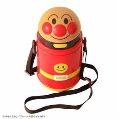 ストロー付き保冷ダイカット水筒400ml(アンパンマン) [ 水筒 すいとう 男の子 ストロー付き水筒 あんぱんまん 遠足 入園 入学 保育園