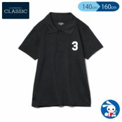 [EFC]鹿の子ワンポイントポロシャツ【140cm・150cm・160cm】[ 半袖シャツ ポロシャツ  子供 キッズ キッズ服 子ども こども 子供服 子ど