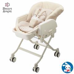 SmartAngel)ハイローベビーラック マミースイング[ベビーチェア スイング チェア 赤ちゃん 椅子 ベビー スウィング ゆりかご ハイロー