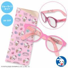 [サンリオ]ハローキティPCメガネ(ピンク)[サンリオ キティ PCメガネ ブルーライトカット パソコン スマホ タブレット メガネ 眼鏡 UV