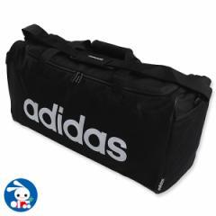 アディダスリニアロゴダッフルバッグ[バッグ バック かばん カバン 鞄][西松屋]