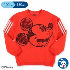 [ディズニー]アディダスミッキーマウスクルースウェットシャツ【100cm・110cm・120cm・130cm】[西松屋]