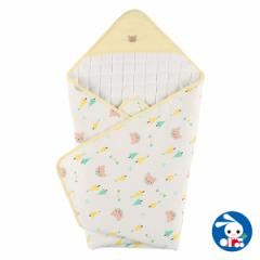 スムースアフガン(くまガーランド)85×85cm[おくるみ 赤ちゃん ベビー ベビー服 男の子 女の子 新生児 新生児服 ベビー用品 ベビーグッ