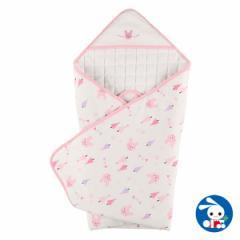 スムースアフガン(ウサギガーランド)85×85cm[おくるみ 赤ちゃん ベビー ベビー服 男の子 女の子 新生児 新生児服 ベビー用品 ベビーグ