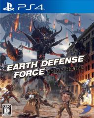 【中古】EARTH DEFENSE FORCE:IRON RAIN PS4  PLJS-36009 / 中古 ゲーム